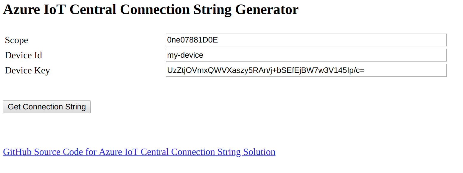 connection string example